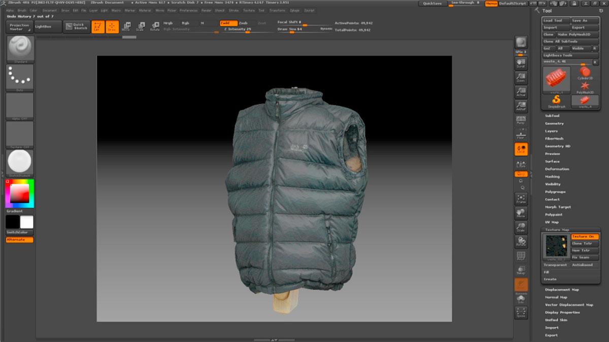 3D-Scan_Weste_textured
