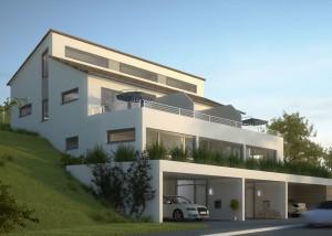 Eckert-Erlabrunn-01_Architektur_Reihenhaus_Visualisierung